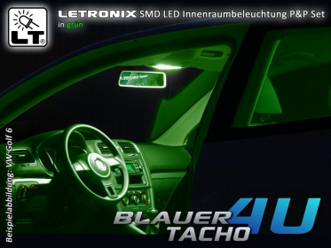 smd led set innenraumbeleuchtung seat ibiza 6l. Black Bedroom Furniture Sets. Home Design Ideas