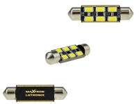 MaXtron® 6x SMD 5730 CAN-Bus LED Soffitte 42mm 300LM C10W Sockel 12 Volt
