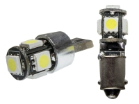 2x 5 SMD 5050 3 Chip LED Leuchtmittel Wei� 6000K Can-Bus