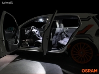 Preview: Osram® SMD LED Innenraumbeleuchtung Audi A3 8L VFL Innenraumset