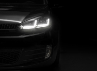 Preview: LEDriving® XENARC® Golf 6 VI BLACK EDITION Xenon Scheinwerfer LEDHL102-BK