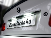 Preview: CREE® Chip LED Kennzeichenbeleuchtung Seat Alhambra ab 2011