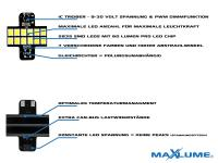Mobile Preview: MaXlume® 12x SMD 2835 CAN-Bus 720LM 12V VAG LED Fußraumbeleuchtung Modul