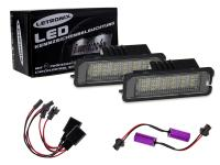 Mobile Preview: SMD LED Kennzeichenbeleuchtung Module Seat Ibiza 5 V Sport, FR, Cupra 08-13