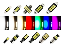 Preview: MaXlume® 12x SMD 2835 CAN-Bus LED Side 720LM w5w T10 Glassockel 12V 24V