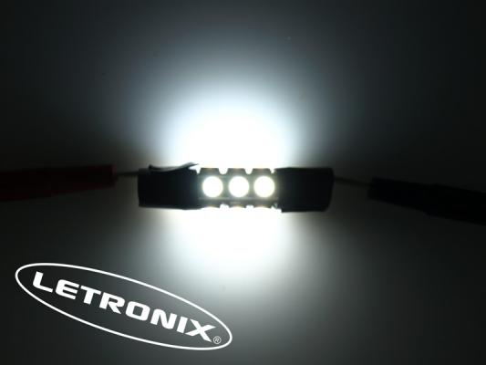 42mm 12 smd led soffitte c10w can bus checkcontrol. Black Bedroom Furniture Sets. Home Design Ideas