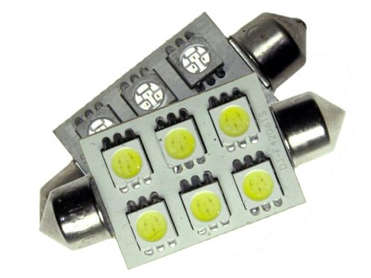 42mm led soffitte 6 smd 5050 3chip c10w hightech. Black Bedroom Furniture Sets. Home Design Ideas