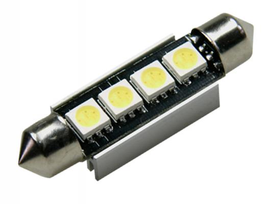 42mm 4x 5050 smd led soffitte wei can bus c5w. Black Bedroom Furniture Sets. Home Design Ideas
