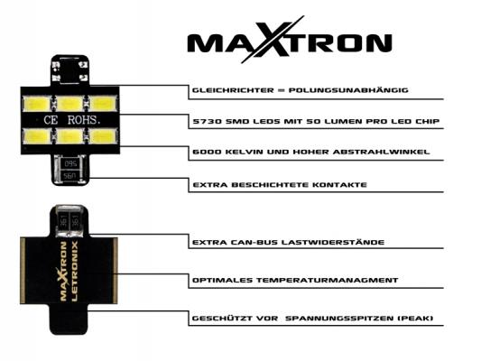 MaXtron® SMD LED Innenraumbeleuchtung Skoda Roomster 5J Innenraumset
