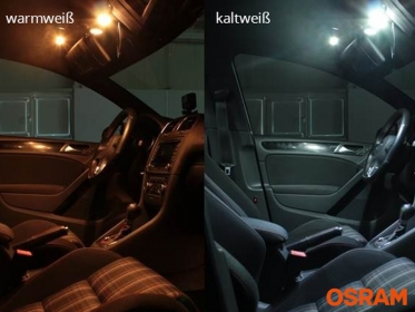 Osram® SMD LED Innenraumbeleuchtung Audi A3 8L VFL Innenraumset
