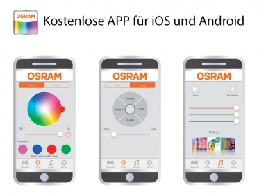 OSRAM RGB LEDambient PULSE Connect Kit inklusive APP Bluetooth iOS & Android