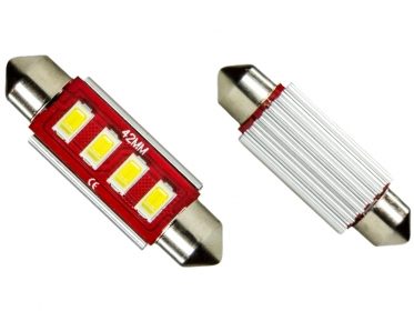 42mm 4x 5630 smd led soffitte wei c10w can bus checkcontrol. Black Bedroom Furniture Sets. Home Design Ideas