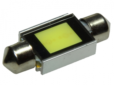 37mm LED Soffitte HPC HighPowerChip 2 Watt Weiß COB C5W