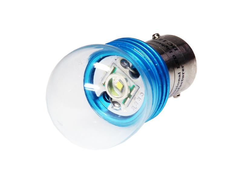 Nykomna 1x 9 Watt CREE® LED Leuchtmittel mit Glaskörper Ba15s P21W Sockel TV-61