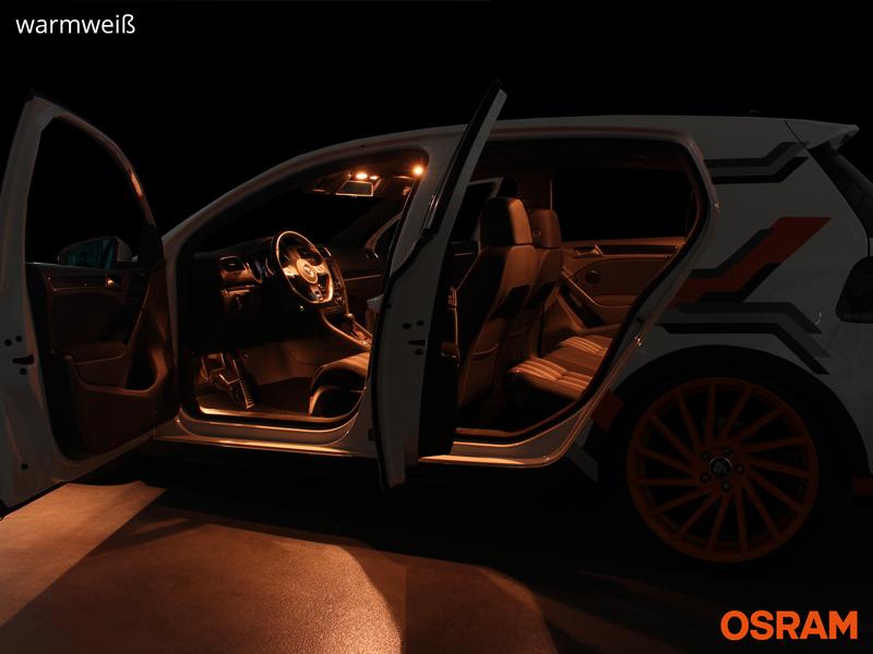 Osram® Highend LED Innenraumbeleuchtung Renault Scenic III