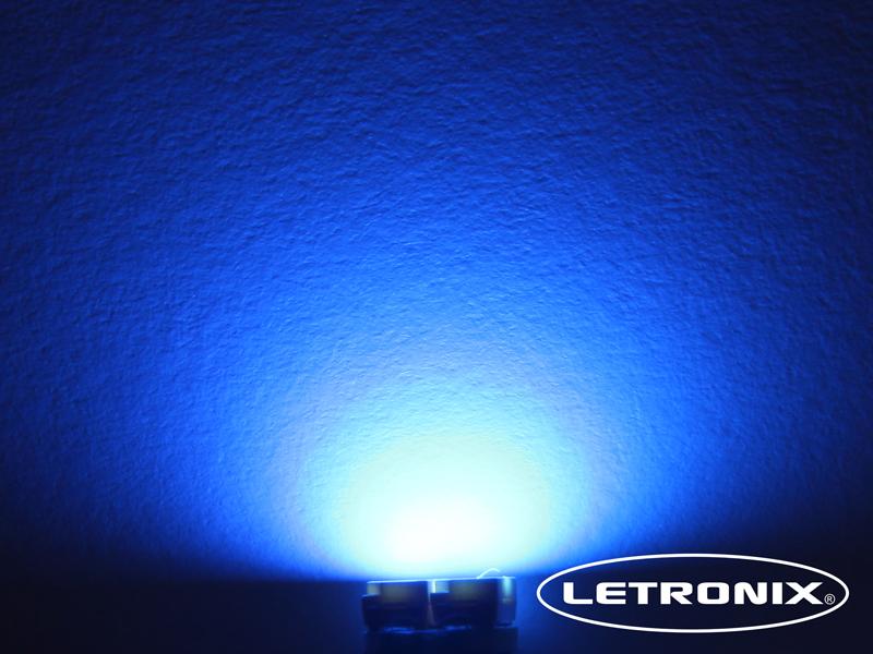 1x 2 SMD PLCC2 LED T4.2 WEIß BLAU ROT oder GRÜN Instrumentenbeleuchtung Tacho
