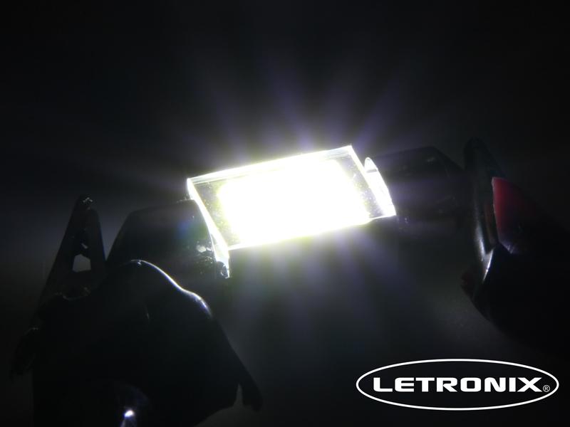 3 stk 42mm COB 3W LED Soffitte Innenraumbeleuchtung weiß 12V Neu Deutsche Post
