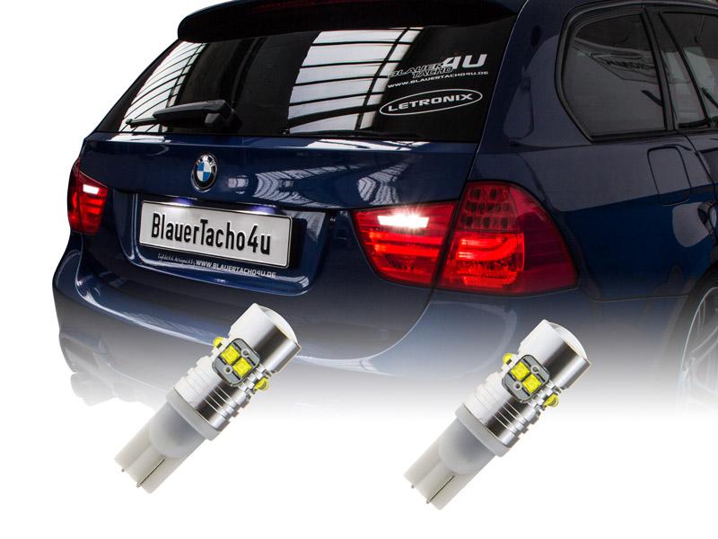2x 50W CREE W16W CAN-Bus LED Rückfahrlicht BMW X3 E83 & F25