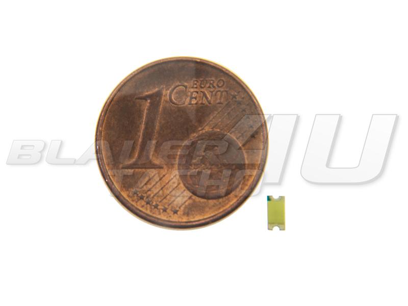 50x SMD LED 0603 PLCC SMD LED Leds Blau Led 180 mcd