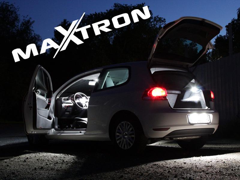MaXtron® SMD LED Innenraumbeleuchtung Fiat 500X Innenraumset