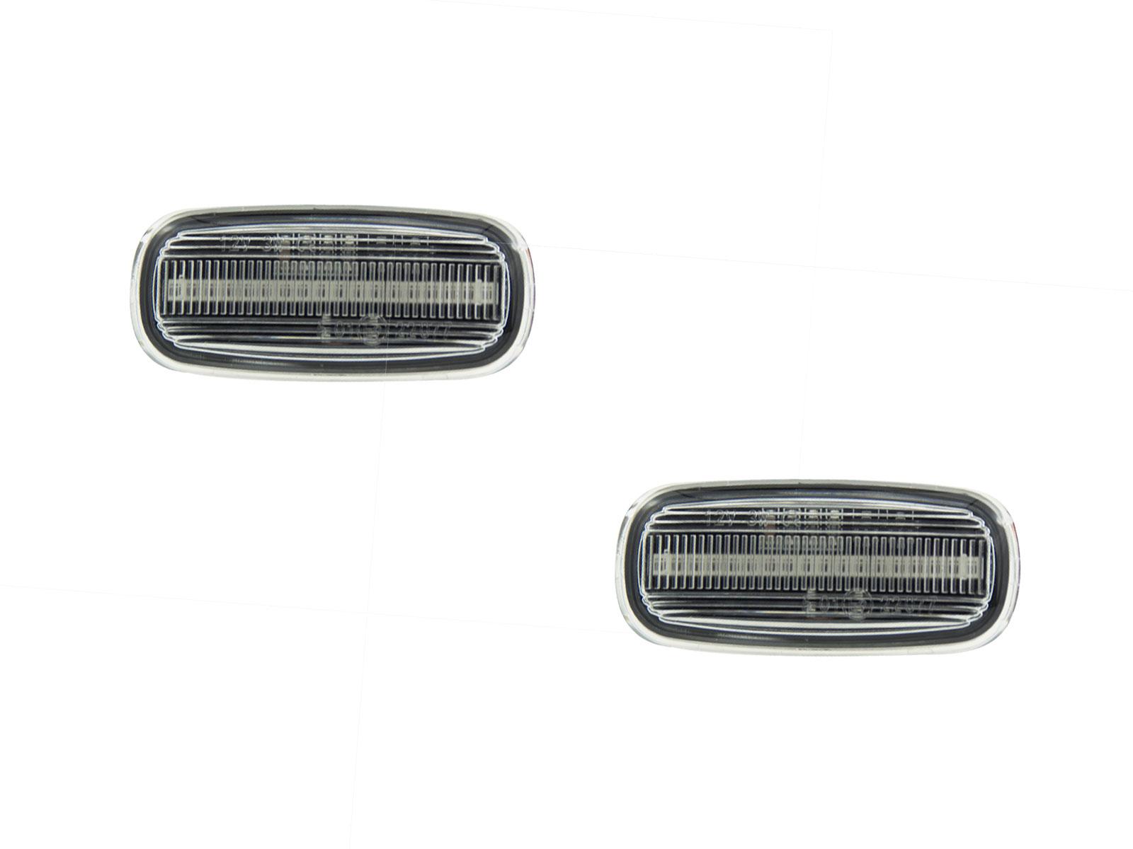 A6 C5 A8 D2 Facelift//TT 8N mit E-Pr/üfzeichen A4 B5 Facelift LETRONIX LED Seitenblinker Blinker Module Smoke Schwarz A2 8Z A3 8L Facelift