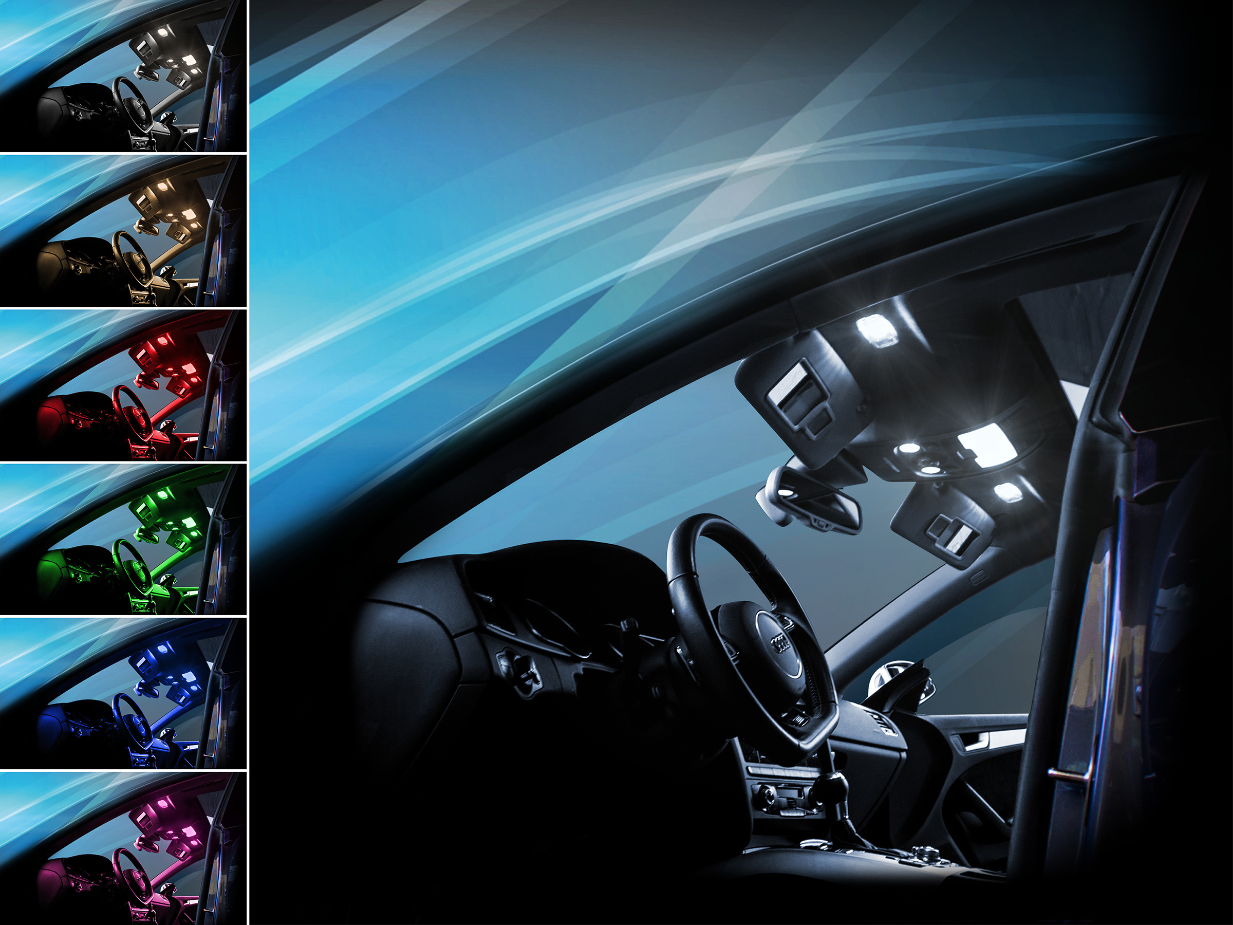 MaXtron Innenraumbeleuchtung Set f/ür Auto Astra K 6000K Kalt Wei/ß Beleuchtung Innenlicht Komplettset