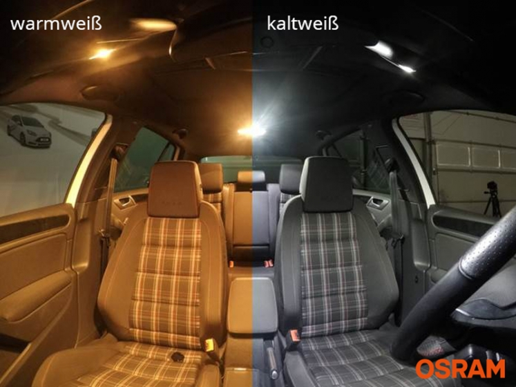 8x Innenraumbeleuchtung Auris E18 2012-2016 Lampen in BLAU Set