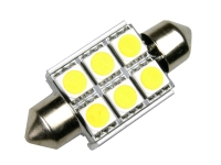 36mm 6 SMD LED-Soffitte C5W Can-Bus CheckControl