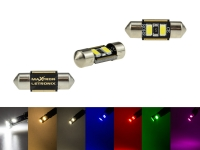 MaXtron® 2x SMD 5730 CAN-Bus LED Soffitte 31mm 100LM C3W Sockel 12 Volt