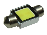31mm LED Soffitte HPC HighPowerChip 2 Watt Weiß COB C5W