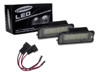 18 SMD LED Kennzeichenbeleuchtung VW Polo 2000-2009